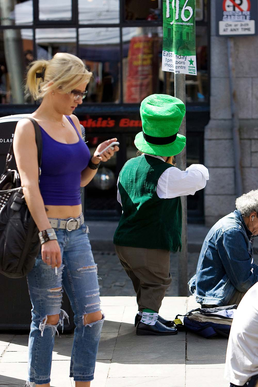 Leprachaun in Dublin City