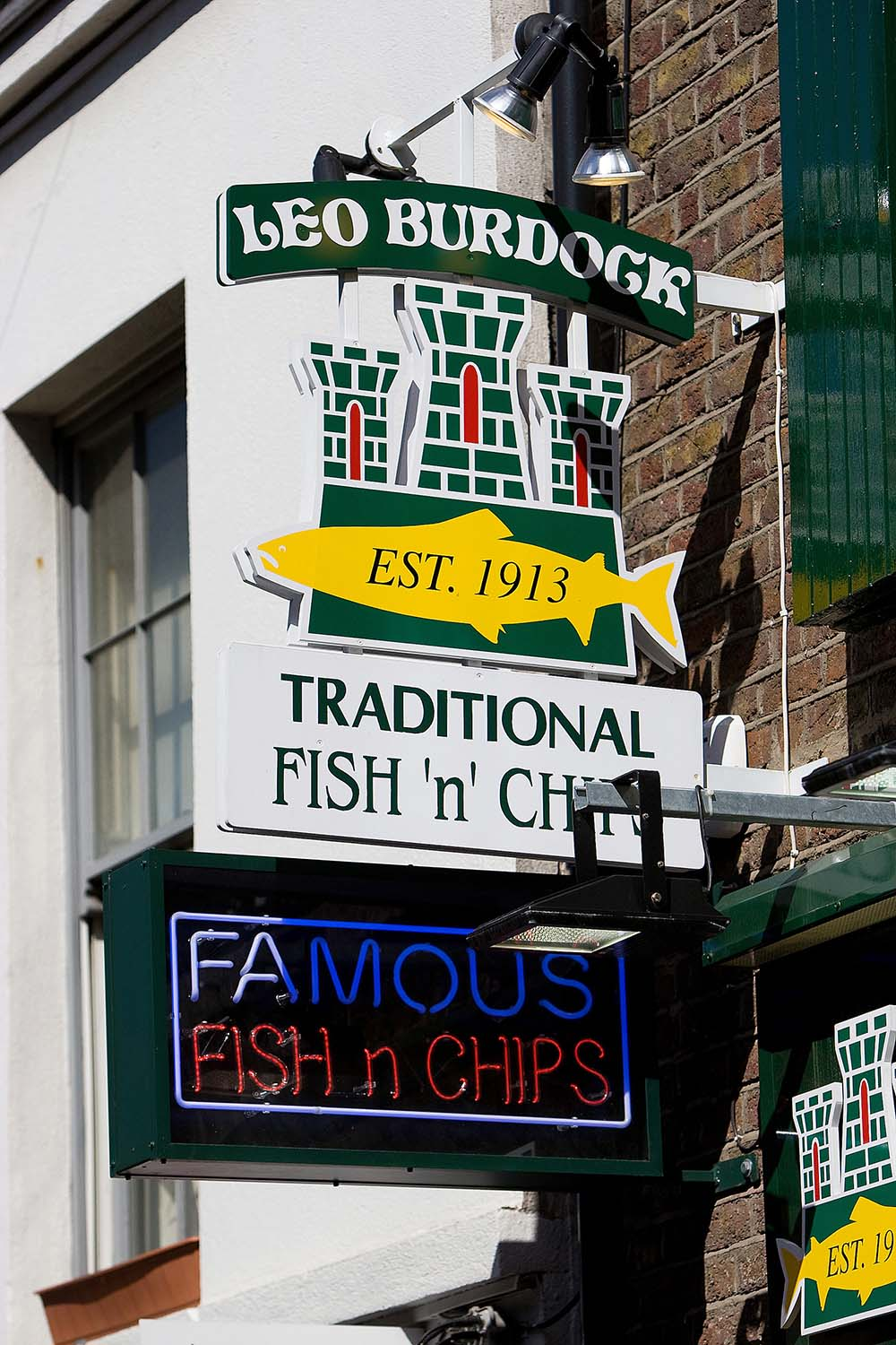 Leo Burdoch Fish and Chips