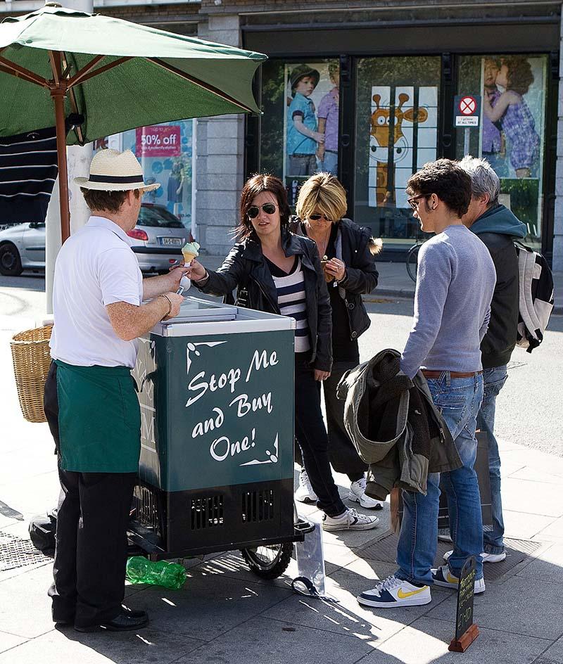 Irish Dairy Ice Cream Stand