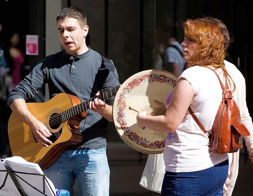 Traditional Irish Music in Dublin