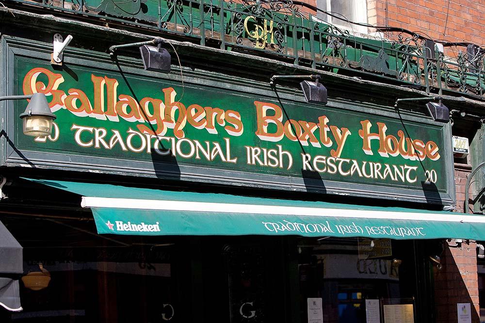 Traditional Irish Restaraunt Dublin